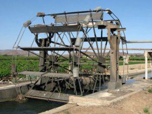 Kakamas Operating Water Wheels